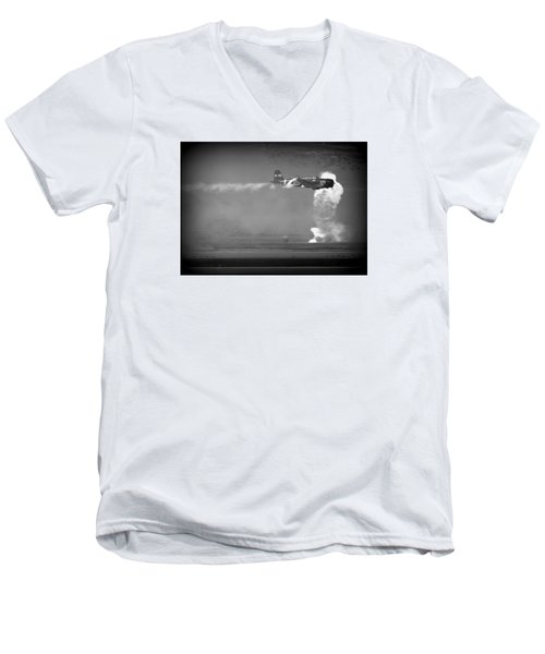 Tora, Tora, Tora At The Reno Air Races Men's V-Neck T-Shirt