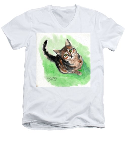 Torbie 2 Men's V-Neck T-Shirt