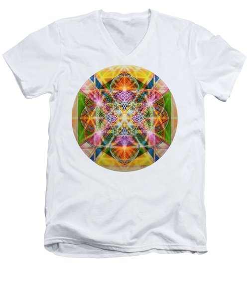 Torusphere Synthesis Bright Beginning Soulin I Men's V-Neck T-Shirt
