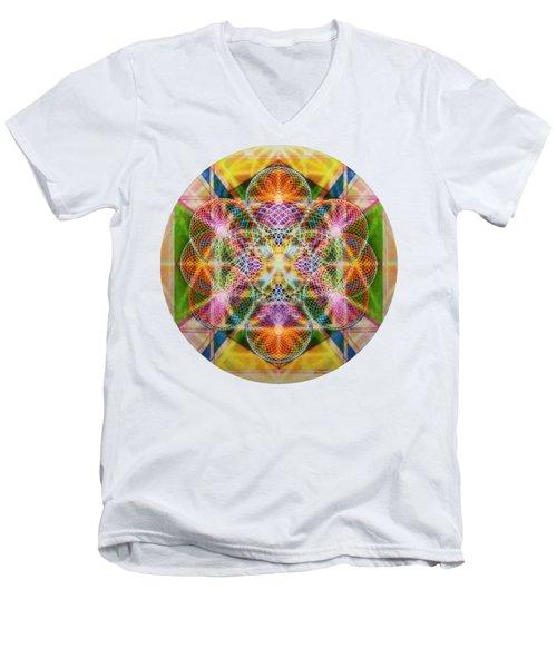 Torusphere Synthesis Bright Beginning Soulin I Men's V-Neck T-Shirt