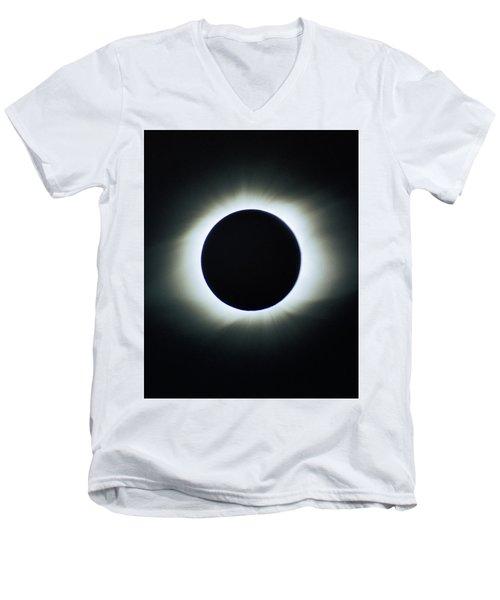 Total Solar Eclipse - Aruba 1998 Men's V-Neck T-Shirt