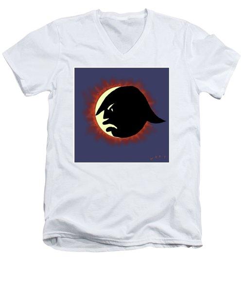 Total Trump Eclipse Men's V-Neck T-Shirt