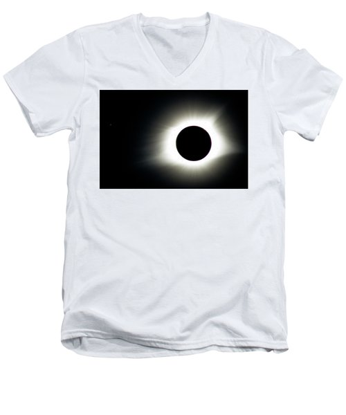 Totality And Mercury Men's V-Neck T-Shirt