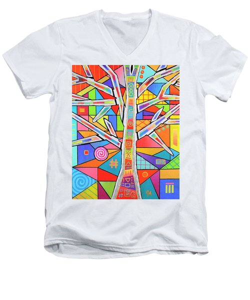 Totem Tree Men's V-Neck T-Shirt