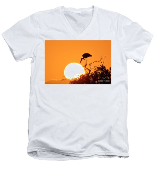 Touching The Sun Men's V-Neck T-Shirt