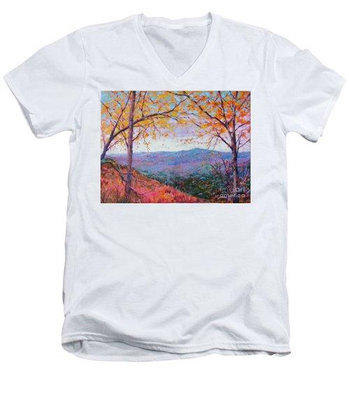 Toward Blue Ridge Men's V-Neck T-Shirt
