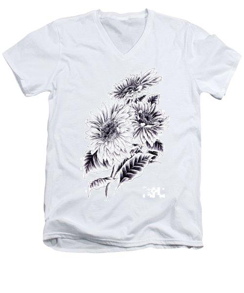 Towards The Light Men's V-Neck T-Shirt