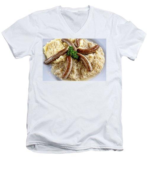 Traditional German Food Men's V-Neck T-Shirt