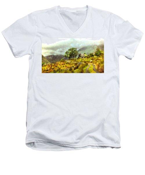 Traditional Ireland Men's V-Neck T-Shirt