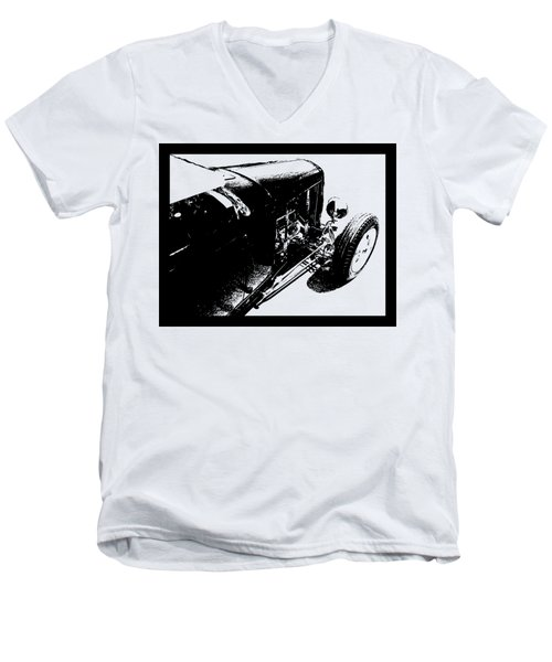 Traditional Roadster Tee Men's V-Neck T-Shirt