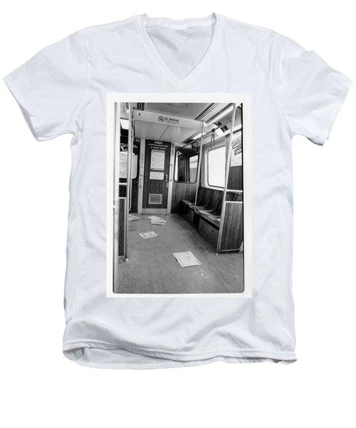 Train Car  Men's V-Neck T-Shirt