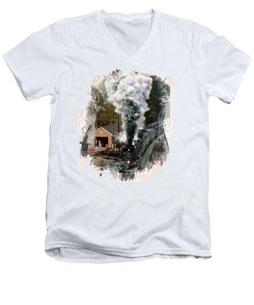 Train Days Men's V-Neck T-Shirt