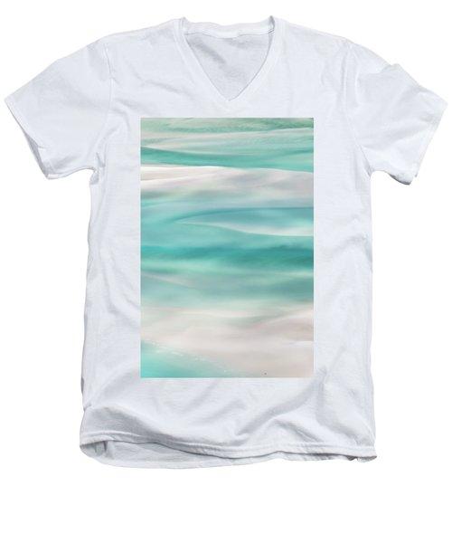 Tranquil Turmoil Men's V-Neck T-Shirt by Az Jackson