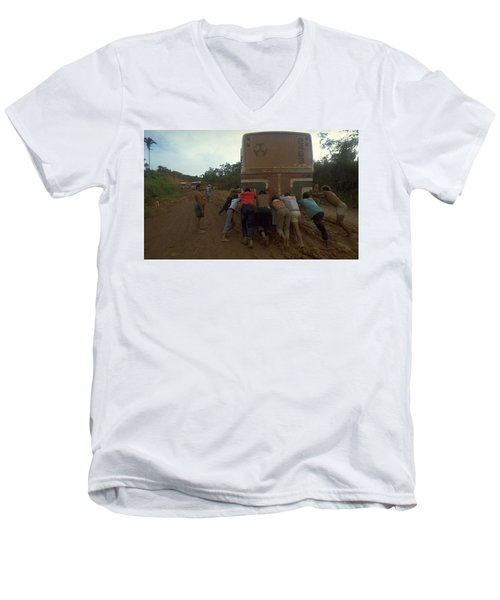 Trans Amazonian Highway, Brazil Men's V-Neck T-Shirt