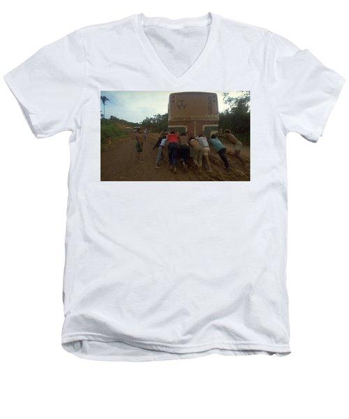 Trans Amazonian Highway, Brazil Men's V-Neck T-Shirt