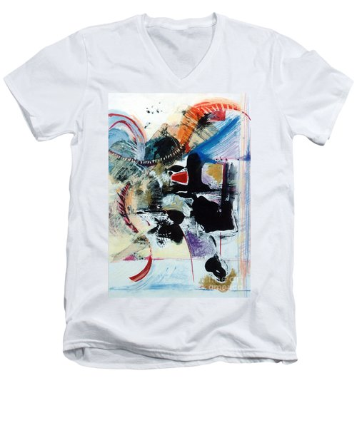 Transcendance  Men's V-Neck T-Shirt by Kerryn Madsen-Pietsch