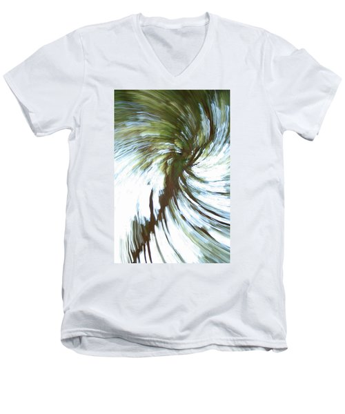 Tree Diptych 1 Men's V-Neck T-Shirt