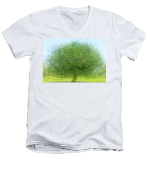 Tree Of Joy Men's V-Neck T-Shirt