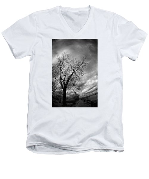 Tree 4 Men's V-Neck T-Shirt