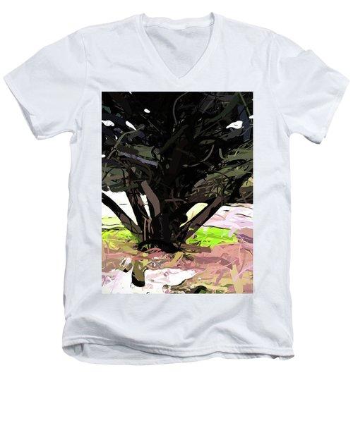 Trees 1 Men's V-Neck T-Shirt