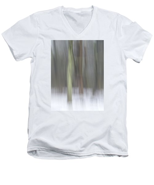 Trees In Fog II Men's V-Neck T-Shirt