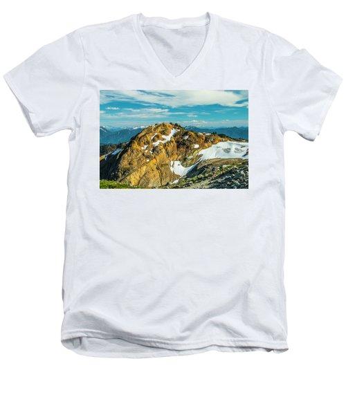 Trekking Into Camp Men's V-Neck T-Shirt