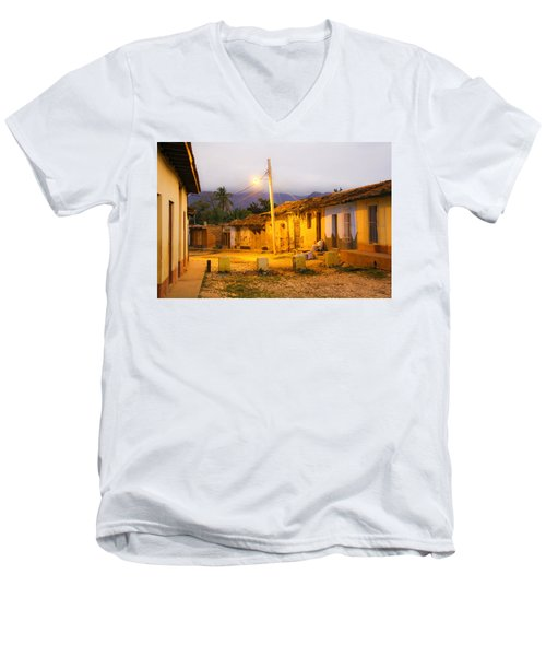 Trinidad Morning Men's V-Neck T-Shirt