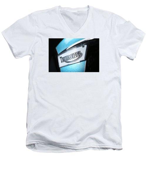 Triumph Badge Men's V-Neck T-Shirt