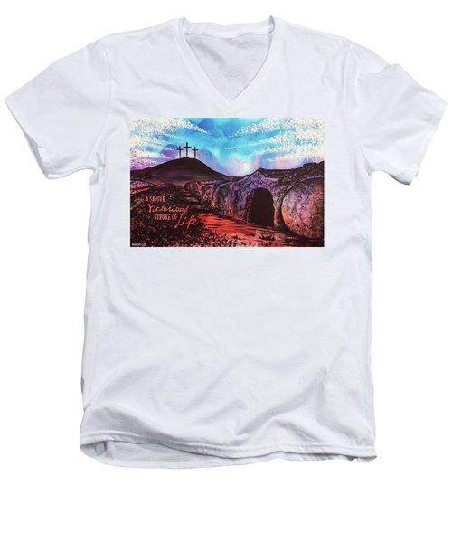 Triumphant Life Men's V-Neck T-Shirt