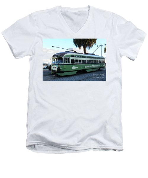Trolley Number 1078 Men's V-Neck T-Shirt