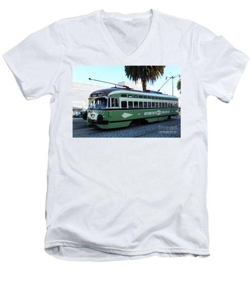 Trolley Number 1078 Men's V-Neck T-Shirt