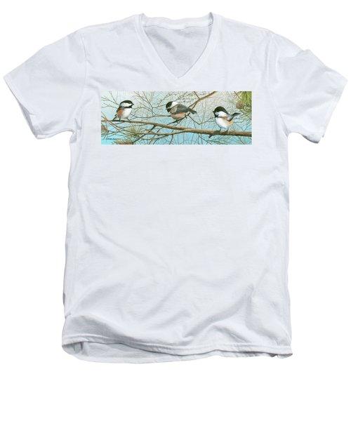 Troublesome Trio Men's V-Neck T-Shirt