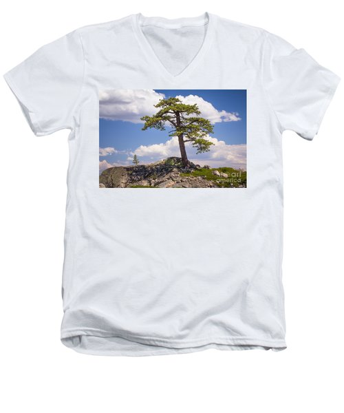 Men's V-Neck T-Shirt featuring the photograph Truckee  by Vincent Bonafede