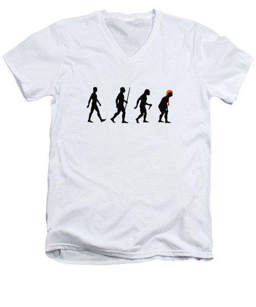 Trumplution Men's V-Neck T-Shirt
