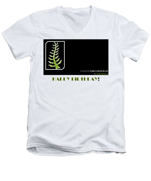 Trust In God Men's V-Neck T-Shirt