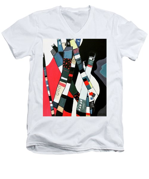 Tubular City Men's V-Neck T-Shirt