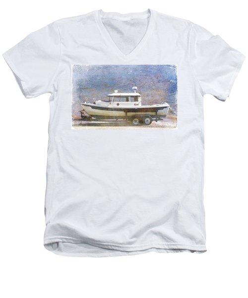 Tugboat Men's V-Neck T-Shirt