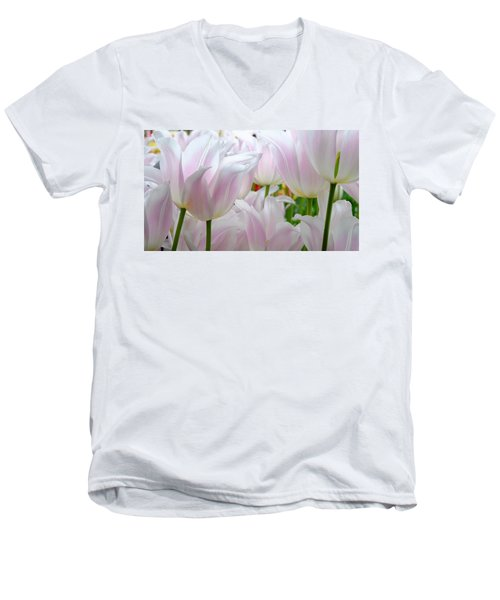 Tulip Serenity Men's V-Neck T-Shirt