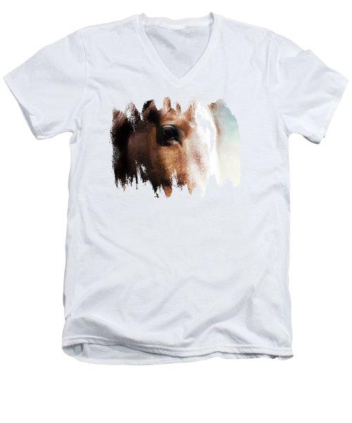 Tumbleweed Up Close Men's V-Neck T-Shirt