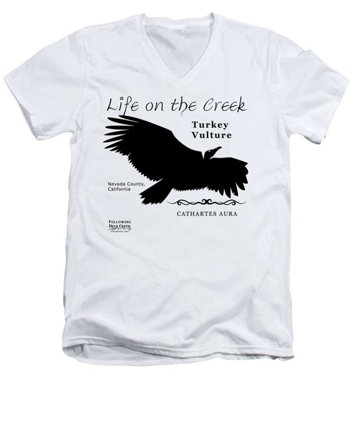 Turkey Vulture Men's V-Neck T-Shirt