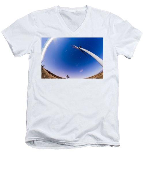 Turning Night Into Day Men's V-Neck T-Shirt