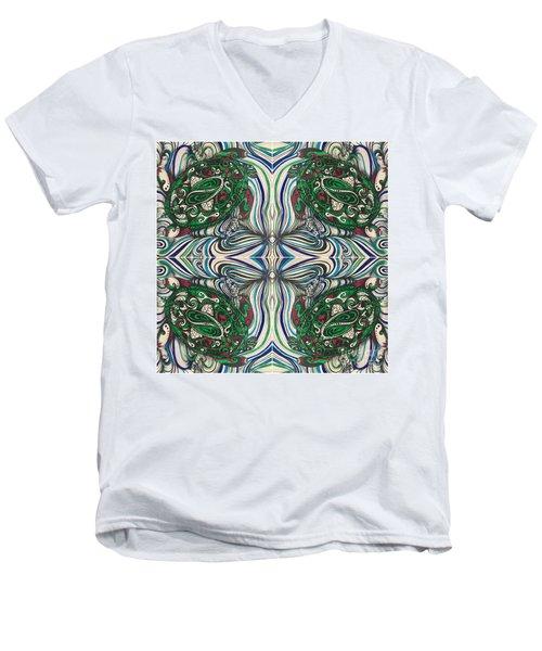 Turtle Time Men's V-Neck T-Shirt