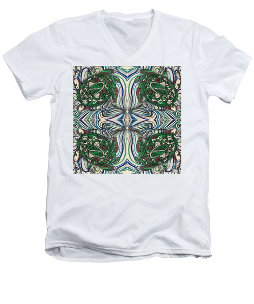 Turtle Time Men's V-Neck T-Shirt