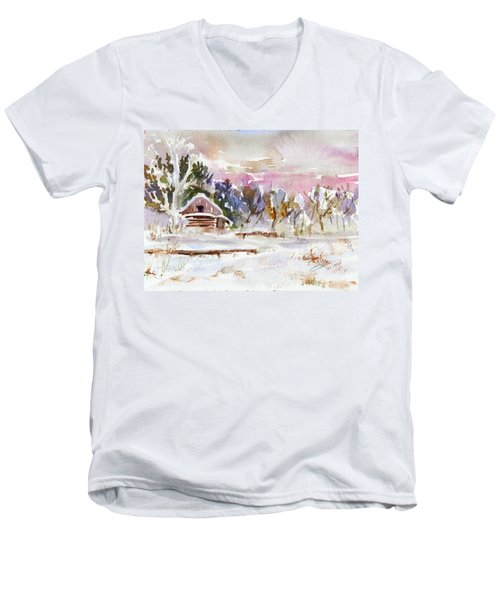 Twilight Serenade I Men's V-Neck T-Shirt