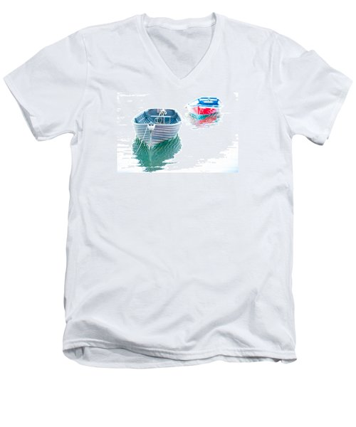 Two Boats Men's V-Neck T-Shirt