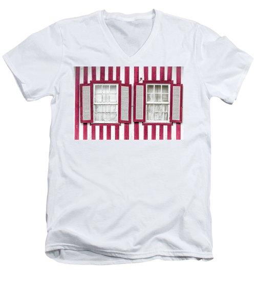 Two Old Windows Men's V-Neck T-Shirt