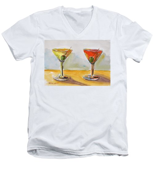 Two Perfect Martinis Men's V-Neck T-Shirt
