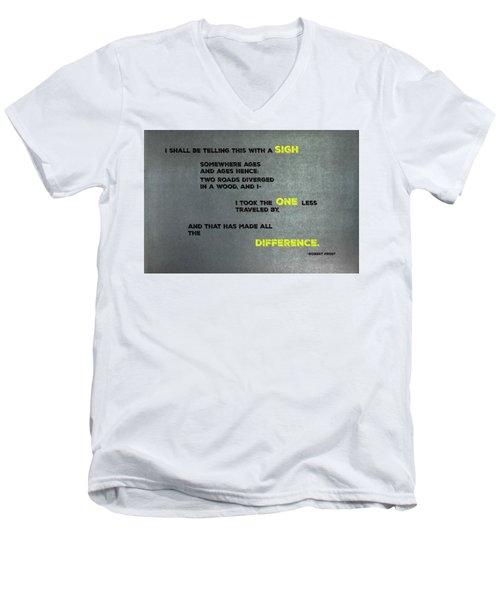 Two Roads #2 Men's V-Neck T-Shirt