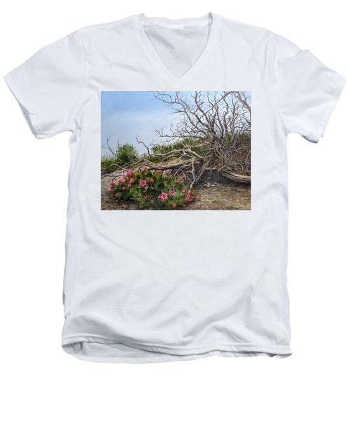 Two Stories Men's V-Neck T-Shirt