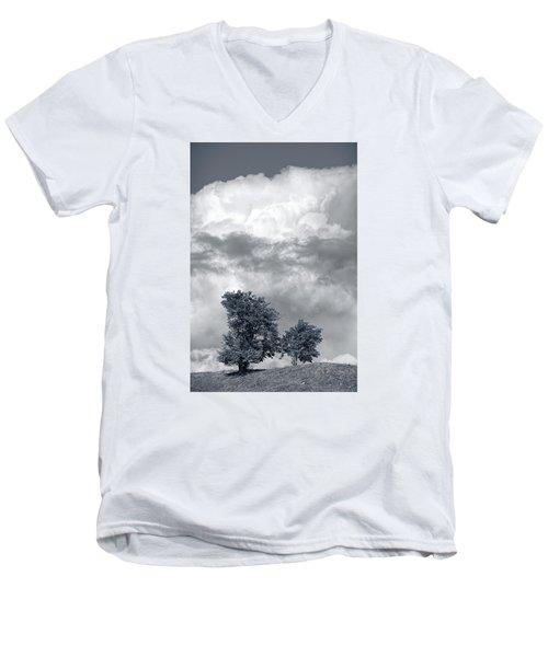 Two Trees #9249 Men's V-Neck T-Shirt